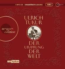 Ulrich Tukur: Der Ursprung der Welt, MP3-CD