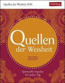 Eva Bambach: Quellen der Weisheit - Kalender 2020, Diverse