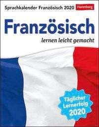 Juliane Regler: Sprachkalender Französisch 2020, Diverse