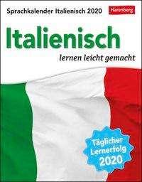 Tiziana Stillo: Sprachkalender Italienisch - Kalender 2020, Diverse