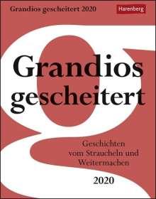 Arnim Kasper: Grandios gescheitert Kalender 2020, Diverse