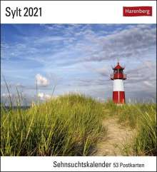 Siegfried Layda: Sylt 2021, Kalender