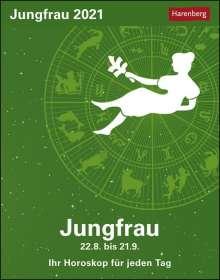 Robert Satorius: Sternzeichenkalender Jungfrau 2021, Kalender