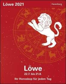 Robert Satorius: Sternzeichenkalender Löwe 2021, Kalender