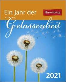 Ann Christin Artel: Ein Jahr der Gelassenheit 2021 Mini-Geschenkkalender, Diverse