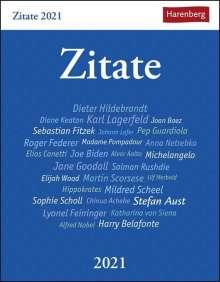 Berthold Budde: Zitate - Kalender 2021, Kalender
