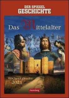 Markus Hattstein: SPIEGEL Geschichte: Das Mittelalter - Kalender 2021, Kalender