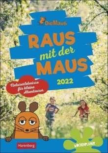 Ulrike Anders: Raus mit der Maus Kalender 2022, Kalender