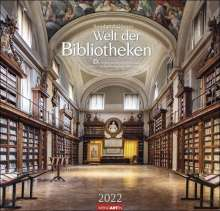 Reinhard Görner: Welt der Bibliotheken Kalender 2022, Kalender