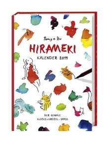 Hu: Hirameki Kalenderbuch A5 - Kalender 2019, Buch