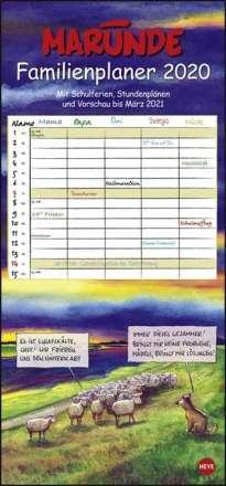 Marunde Familienplaner - Kalender 2020, Diverse