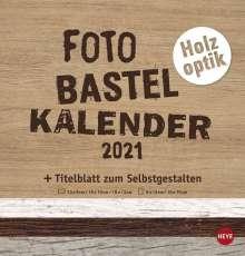 Bastelkalender Natur Holzoptik - Kalender 2020, Diverse