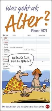Peter Butschkow: Was geht ab, Alter?  - Planer für zwei Kalender 2020, Diverse