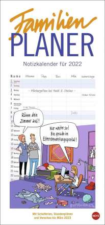 Peter Butschkow: Butschkow Familienplaner - Kalender 2022, Kalender