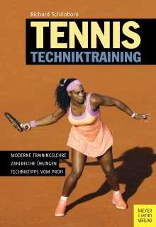 Richard Schönborn: Tennis Techniktraining, Buch