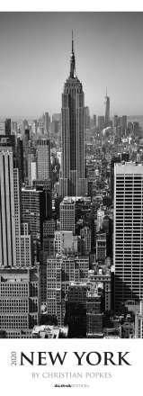 New York 2020 - XL-Streifenkalender, Diverse