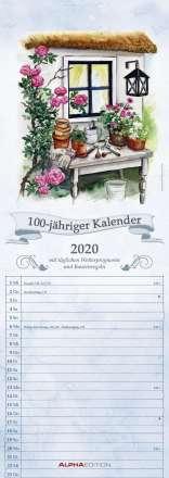 100-jähriger Kalender 2020 - Streifenkalender, Diverse