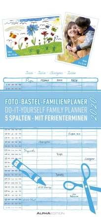 Foto-Bastel-Familienplaner 2020, Diverse