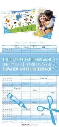 Foto-Bastel-Familienplaner 2019, Diverse