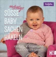 Veronika Hug: Woolly Hugs Süße Baby-Sachen häkeln, Buch