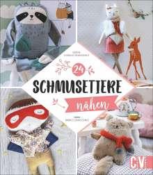 Karine Thiboult-Demessence: Schmusetiere nähen, Buch