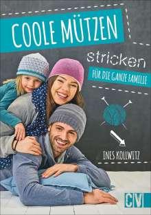 Ines Kollwitz: Coole Mützen stricken, Buch