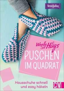 Veronika Hug: Woolly Hugs Puschen im Quadrat, Buch