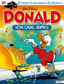 Carl Barks: Disney: Entenhausen-Edition-Donald Bd. 51, Buch