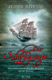 John Boyne: Der Schiffsjunge, Buch