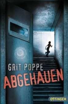 Grit Poppe: Abgehauen, Buch