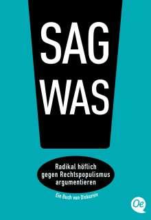 Philipp Steffan: Sag was!, Buch