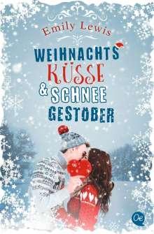Emily Lewis: Weihnachtsküsse und Schneegestöber, Buch