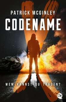 Patrick McGinley: Codename X, Buch