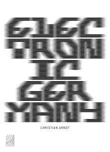Christian Arndt: Electronic Germany, Buch
