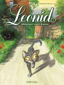 Stefano Turconi: Leonid - Abenteuer eines Katers 01, Buch