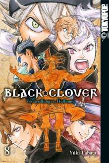 Yuki Tabata: Black Clover 08, Buch