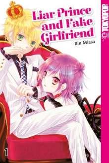 Rin Miasa: Liar Prince and Fake Girlfriend 01, Buch