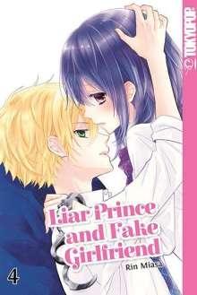 Rin Miasa: Liar Prince and Fake Girlfriend 04, Buch