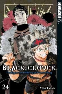 Yuki Tabata: Black Clover 24, Buch