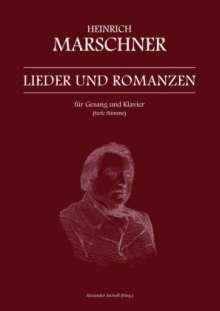 Heinrich Marschner: Heinrich Marschner - Lieder und Romanzen für Gesang und Klavier (tiefe Stimme), Buch