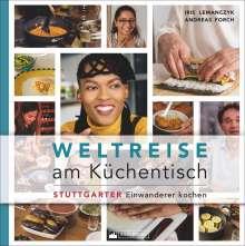 Iris Lemanczyk: Weltreise am Küchentisch, Buch