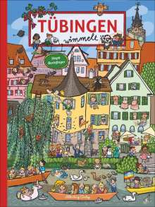 Steph Burlefinger: Tübingen wimmelt, Buch