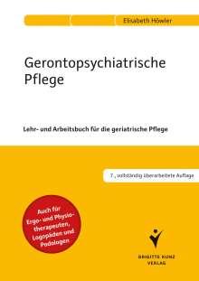 Elisabeth Höwler: Gerontopsychiatrische Pflege, Buch