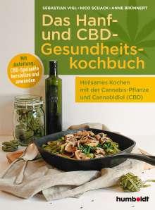 Sebastian Vigl: Das Hanf- und CBD-Gesundheitskochbuch, Buch