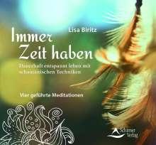 Lisa Biritz: Immer Zeit haben, CD