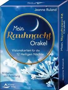 Jeanne Ruland: Mein Rauhnacht-Orakel, Buch