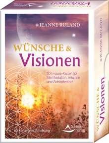 Jeanne Ruland: Wünsche & Visionen, Buch