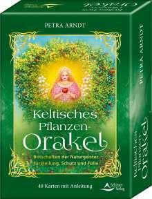 Petra Arndt: Keltisches Pflanzen-Orakel - Botschaften der Pflanzengeister für Heilung, Schutz und Fülle, Buch