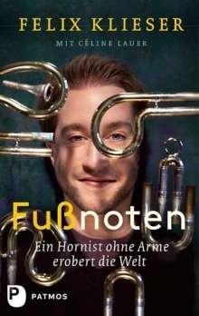 Felix Klieser: Fußnoten, Buch