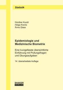 Günther Kundt: Epidemiologie und Medizinische Biometrie, Buch